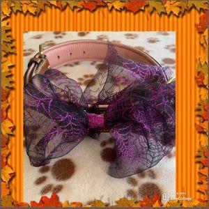 Dogs Collar Flower Handmade Dog Accessory